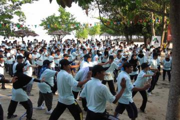 we can do karate teambuilding activity