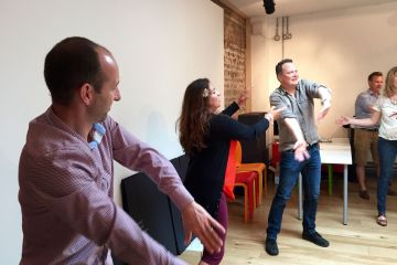 mind to motion team body movement activity