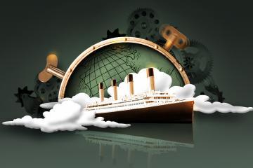 Race Around the World ship