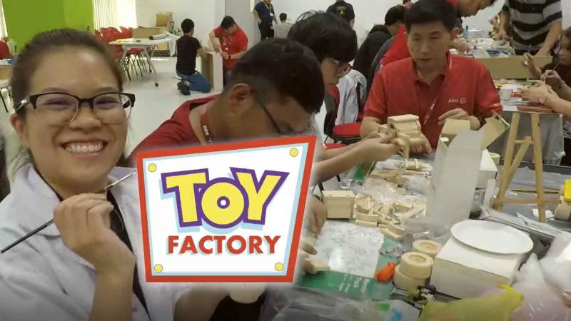 Toy Factory - Giving for Wellbeing