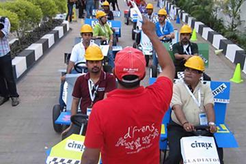fun creative team building activity India