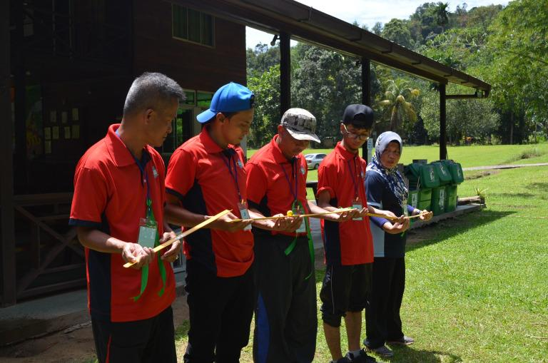 Sabah State Water Supply 2 days team building event