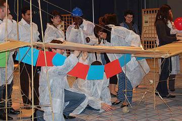 bridging the divide innovative team building France