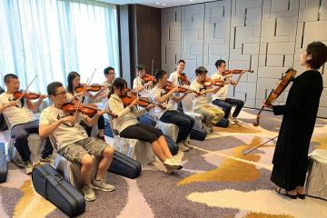 orchestrate teambuilding activity