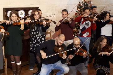 crescendo music team building malta