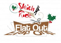 flat out sleigh ride logo