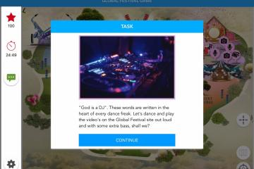 Techno question on Global Festival Game
