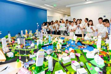 city build creative team building activity catalyst china