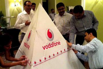 creative collaborative activity team building India