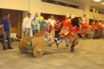 flat out chariot challenge team building Turkey