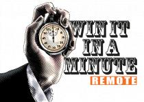 WIn it in a MInute Remote Logo