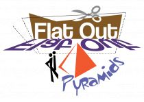 flat out pyramid puzzle logo