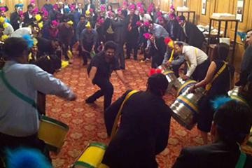 drum factory rhythm team building India