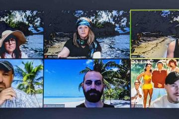 island Survivor remote team building