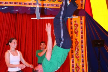 circus arts corporate teamwork program