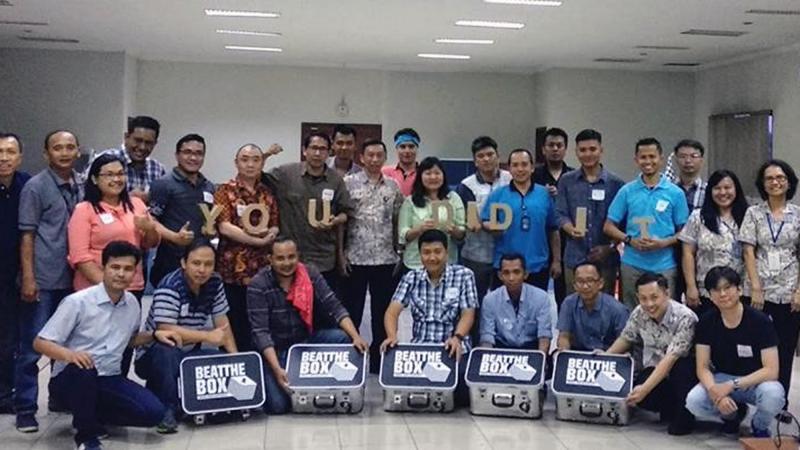 Beat the Box  polyfin indonesia