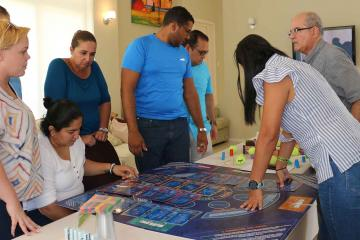 collaborative innovative activity team building Aruba