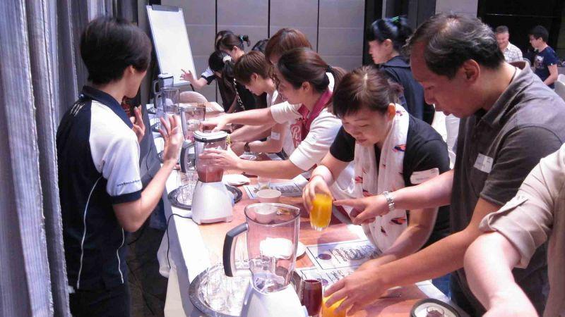 creative juices team building activity