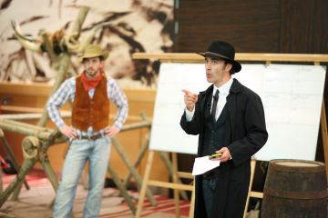 wild west themed business game