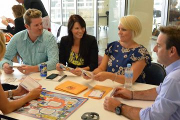 trust or bust communication business game