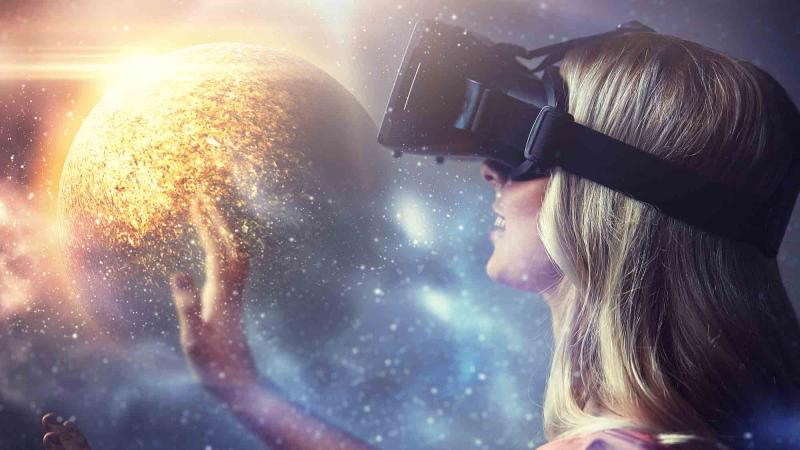 virtual reality team game