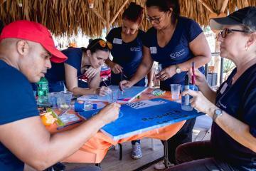 aruba team building