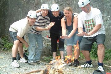 survival multi-day team building activity
