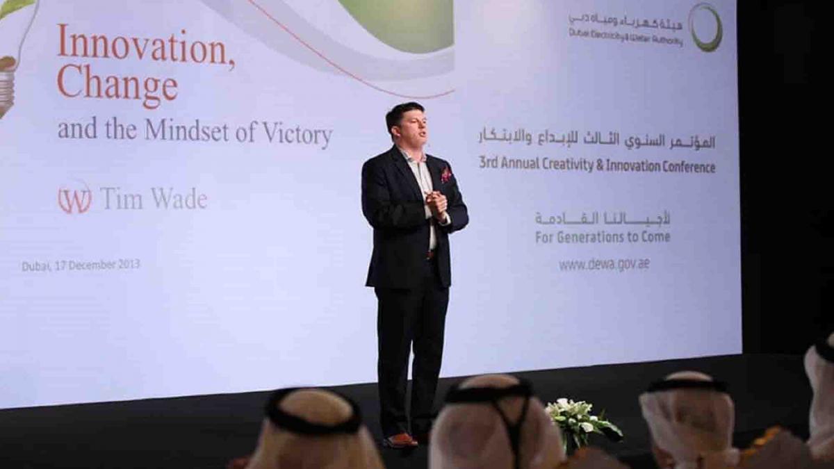 tim wade keynote speaker