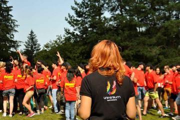 Team bonding with fun in Romania
