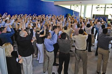 singing team building activity