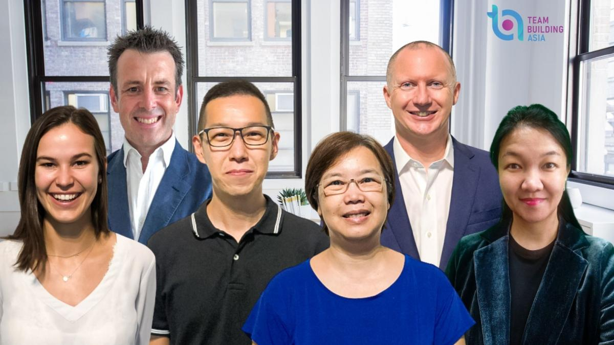 Team Building Asia Team Photo 2021