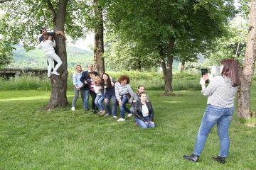 Go Team having fun in Bulgaria