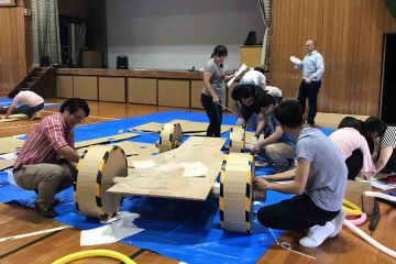 flat out formula one challenging team building activity
