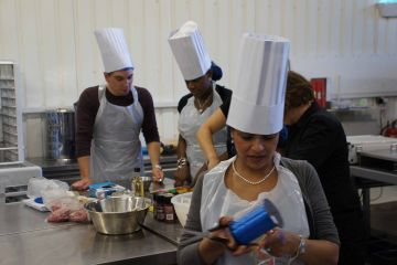 cooking team building activity