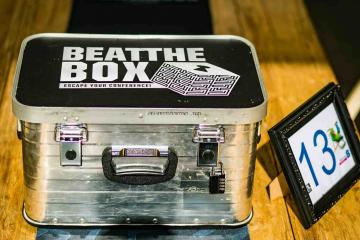 Beat the box escape game catalyst israel