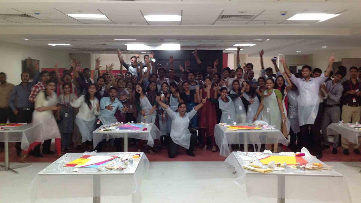 creative and artistic activities team building India