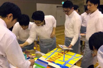 the big picture artistic creative team building activity