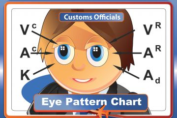 eye assessing chart lies