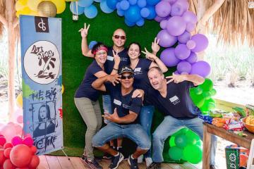 the big picture team building Aruba