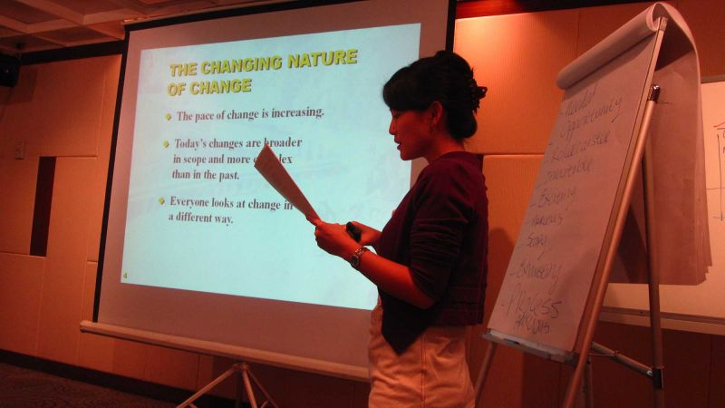 embrace change in the workplace