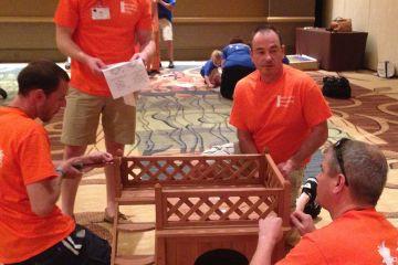 social responsibility team building program