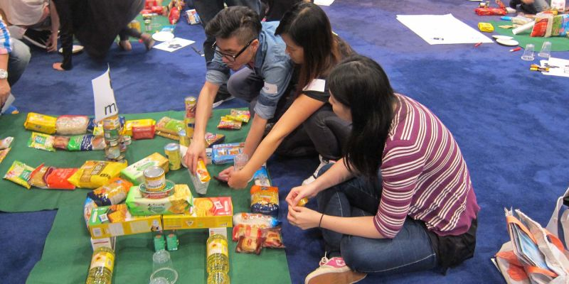 golf charity team building activity