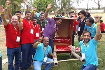 fun collaborative activity team building India