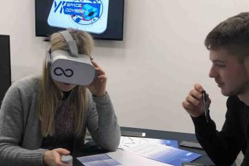 VR team building activity