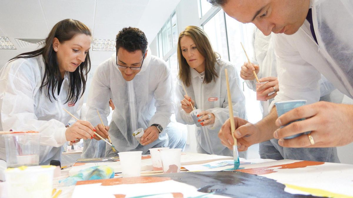 creative team building