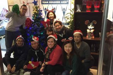2018 Team Building Asia Christmas xmas