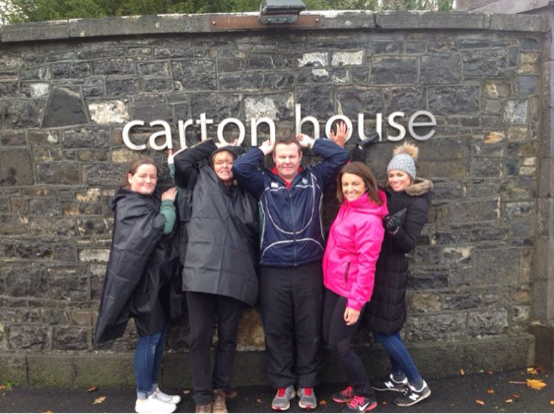 Go Team treasure hunt at Carton House