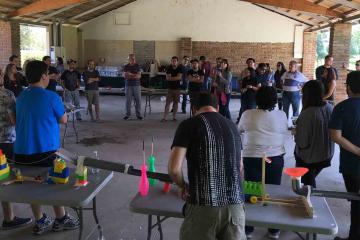chain reaction team building activity catalyst chile