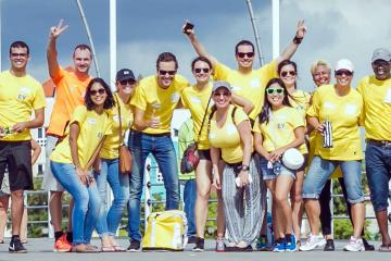 interactive outdoor activity team building Aruba