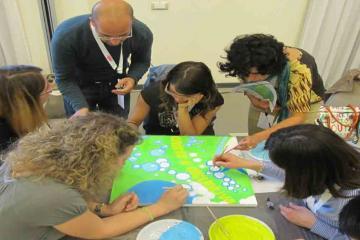 creative team building programme